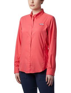 camisa-womens-tamiami-ii-ls-shirt-bright-geranium-pp-fl7278--673ppq-fl7278--673ppq-1